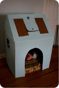 Carboard playhouse