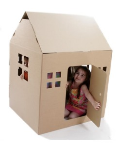Paperpod cardboard house