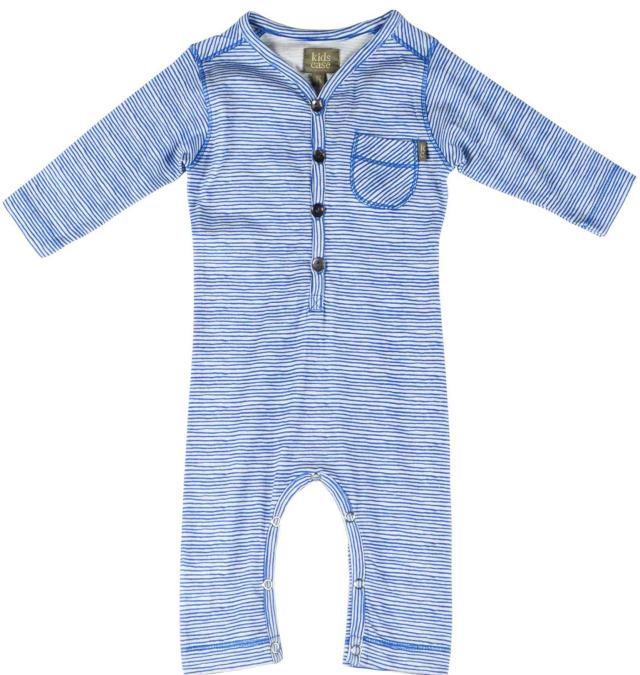 Day organic romper playsuit in blue by Kidscase
