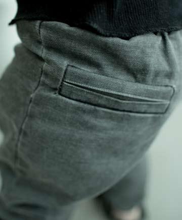 NUNUNU Drill pants