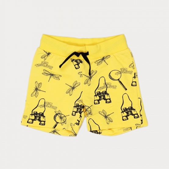 mini_zoologist_shorts_yellow